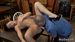 Milf and woman blonde tied fucked saw his father and his girlcompanion nude on a table in