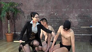 MLDO-162 The two masochistic pig's repeated discipline