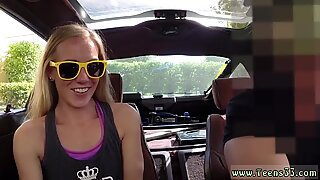 Big natural mom anal xxx Blonde foolish attempts to sell car, sells herself