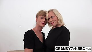 2 horny grannies get fucked by BBC